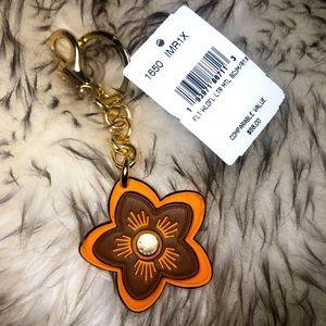 🚫SOLD🚫 Coach wildflower bag charm